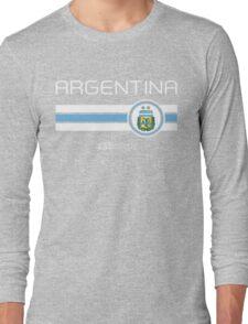 Copa America 2016 - Argentina (Away Blue) Long Sleeve T-Shirt