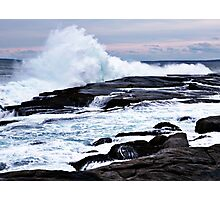 Ferocious Ocean -- Peggy's Cove, Nova Scotia Photographic Print