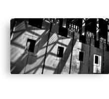 Abstract shot of the front of Australia's Parliament House. Canvas Print