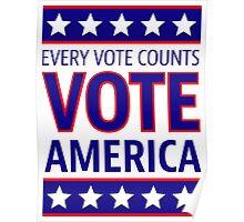 VOTE AMERICA Poster