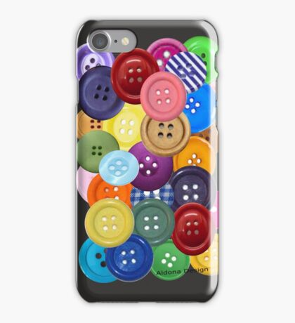 buttons [530 views] iPhone Case/Skin