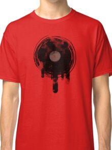 Cool Melting Vinyl Records Vintage Music T-Shirt Classic T-Shirt