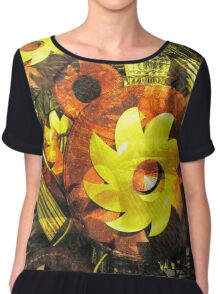 Parable of the Sunflower Chiffon Top