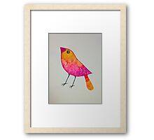 Summer bird Framed Print