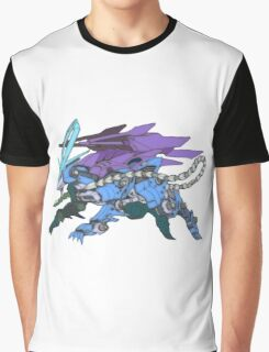 Pokezoids Suicune Graphic T-Shirt