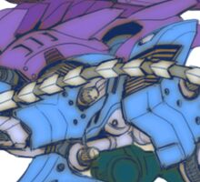 Pokezoids Suicune Sticker
