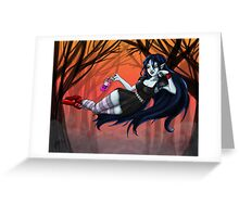 Marceline, The Vampire Queen Greeting Card