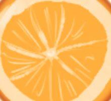 Just a tiny orange Sticker