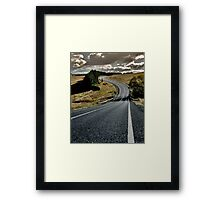 The Road No. 1 Framed Print