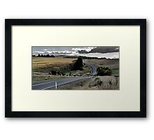 The Winding Road No. 2 Framed Print