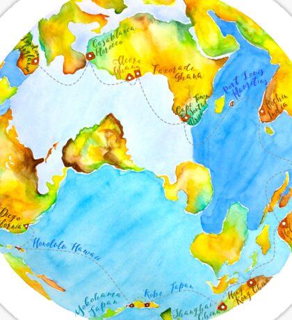 Semester at Sea - Spring '16 Sticker