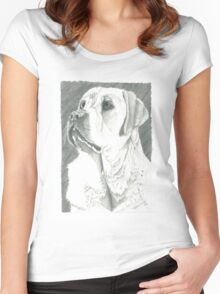 Charlie, Autism Trained Assistant Women's Fitted Scoop T-Shirt
