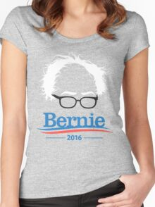 Bernie - High Quality Resolution Women's Fitted Scoop T-Shirt