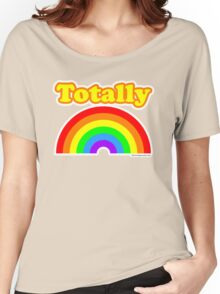Totally Rainbow Logo Women's Relaxed Fit T-Shirt