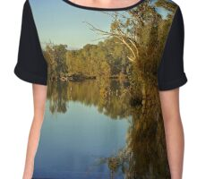 Horseshoe Lagoon Chiffon Top