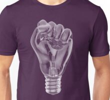 Protest fist light bulb Unisex T-Shirt