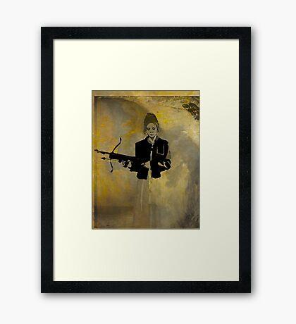Slayer Framed Print