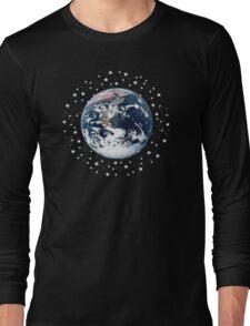 The Earth set amid innumerable stars Long Sleeve T-Shirt