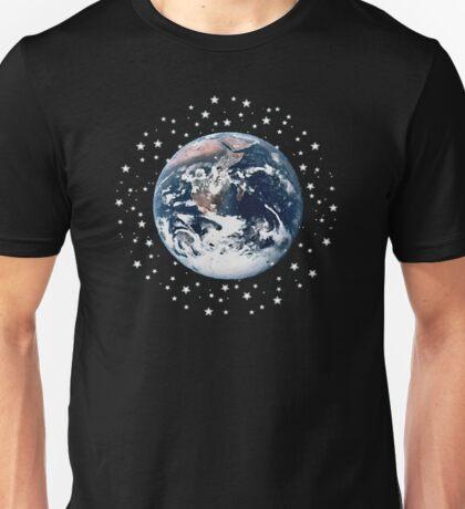 The Earth set amid innumerable stars Unisex T-Shirt