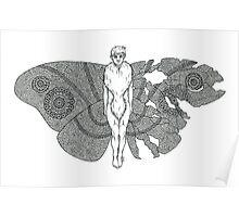 Moth John Poster