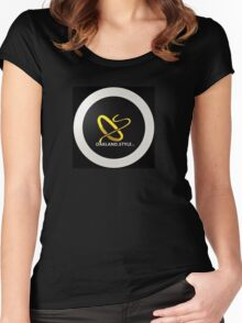 Oakland.Style Women's Fitted Scoop T-Shirt