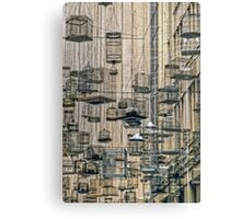 Birdcages - Angel Place, Sydney, Australia Canvas Print