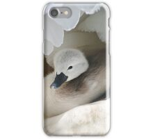Taking cover  iPhone Case/Skin