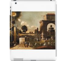 Jan Micker, The Narrow Path of Virtue and Broad Road of Vice,  iPad Case/Skin