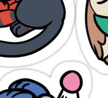 Sleepy Starters Sticker