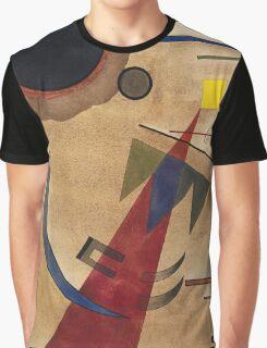 Kandinsky - Rot In Spitzform 1925  Graphic T-Shirt