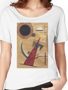 Kandinsky - Rot In Spitzform 1925  Women's Relaxed Fit T-Shirt