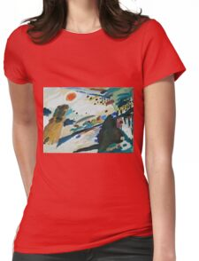 Kandinsky - Romantic Landscape   Womens Fitted T-Shirt