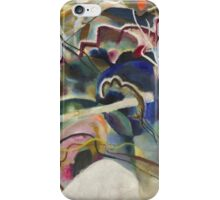 Kandinsky - Painting With White Border Moscow iPhone Case/Skin
