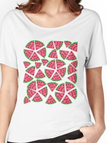 Watermelon Slice Party Women's Relaxed Fit T-Shirt