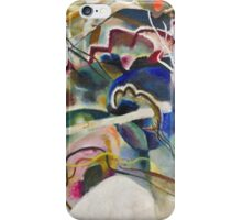 Kandinsky - Painting With White Border iPhone Case/Skin