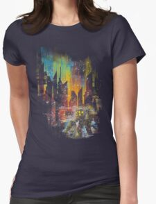 leaving rapture Womens Fitted T-Shirt
