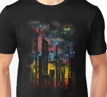 starry city lights Unisex T-Shirt