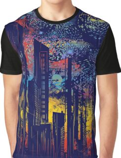 starry city lights Graphic T-Shirt
