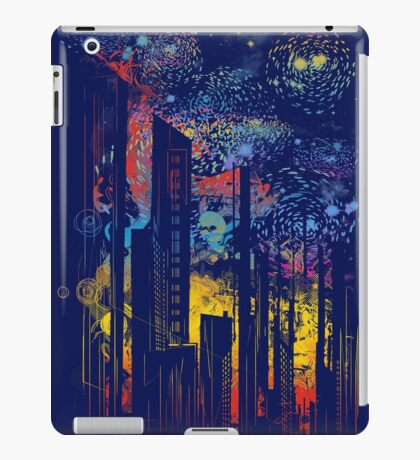 starry city lights iPad Case/Skin