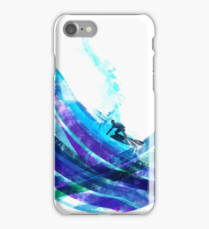 graphic wave iPhone Case/Skin