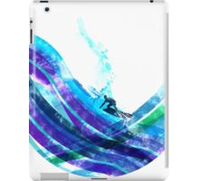 graphic wave iPad Case/Skin