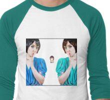 SONGBIRD Twin Double Take Men's Baseball ¾ T-Shirt