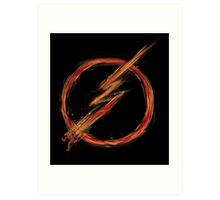 speed lightning Art Print