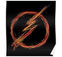 speed lightning Poster