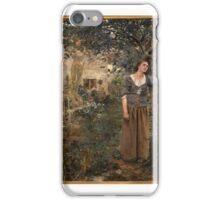 Joan of Arc ,  Jules Bastien-Lepage iPhone Case/Skin