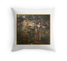 Joan of Arc ,  Jules Bastien-Lepage Throw Pillow