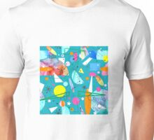Mid Century Modern - Abstract teal Unisex T-Shirt