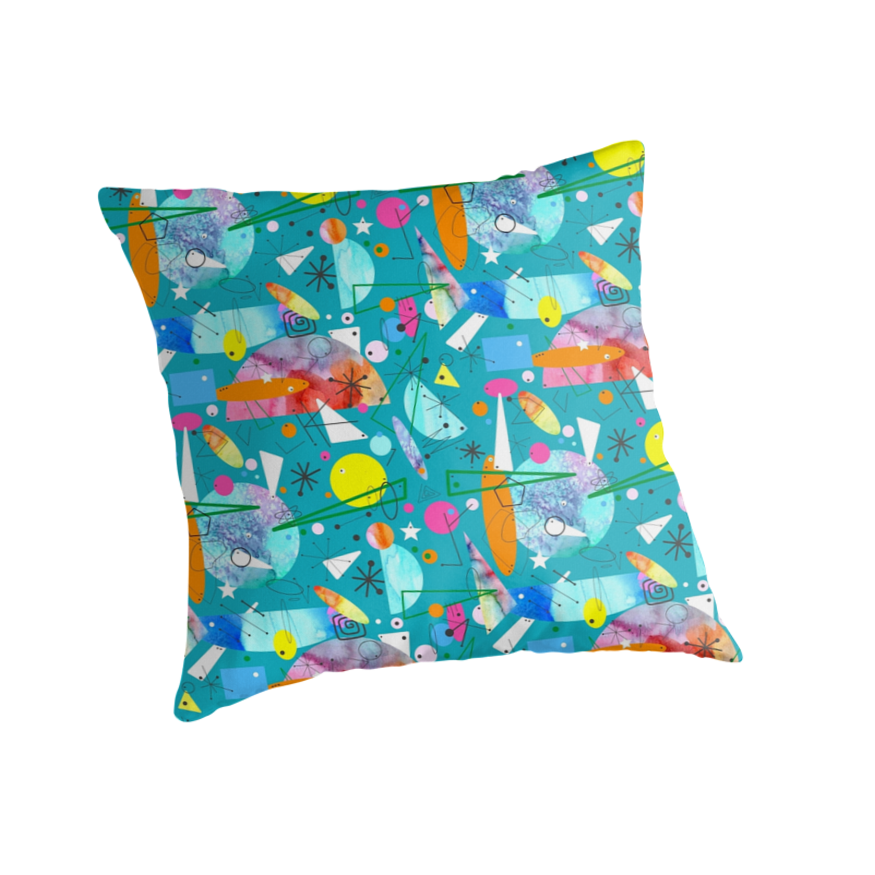 Modern Abstract Pillow :
