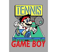 Gameboy Tennis Photographic Print
