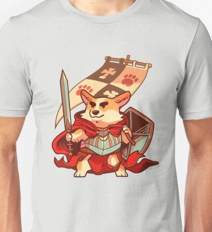 Corgi knight Unisex T-Shirt